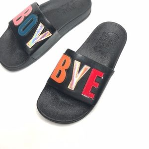 Sam Adelman Circus Flynn Boy Bye Slides Size 6 M